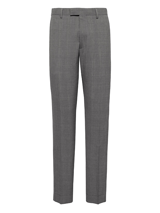 Athletic Tapered Smart-Weight Performance Seersucker Suit Pant