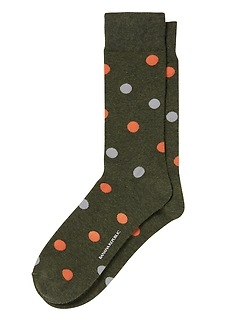 Scattered Dots Sock