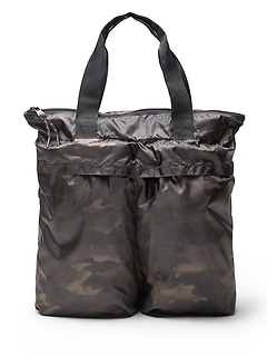 Camo Packable Tote Bag