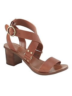 Low Block-Heel Sandal