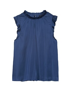 42ee1b837e4 Sleeveless Blouse | Banana Republic