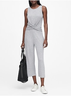 Luxespun Twisted Jumpsuit