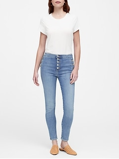 Petite High-Rise Skinny Ankle Jean