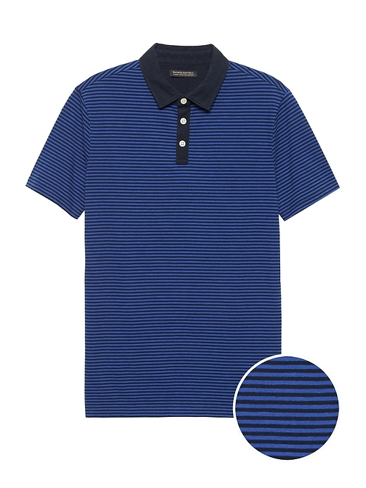 Slim Luxury-Touch Performance Golf Polo