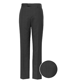 Standard Italian Wool Plaid Suit Pant