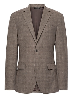 Slim Italian Cotton Blazer