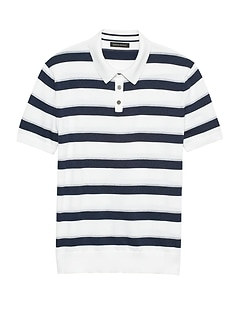 SUPIMA® Cotton Sweater Polo