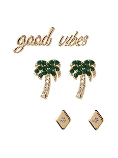 Good Vibes Earrings Set