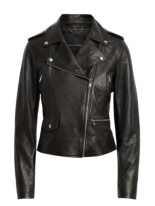 hot products street price aliexpress Classic Leather Moto Jacket