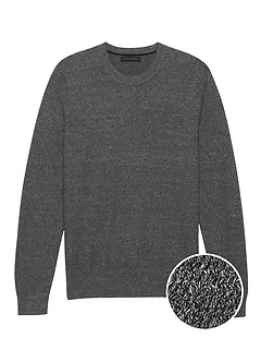 SUPIMA® Cotton Crew-Neck Sweater