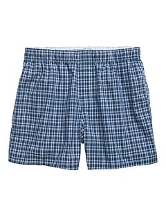 Chris Plaid Boxer