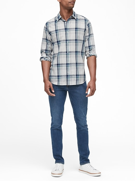 Untucked Standard-Fit Cotton Shirt