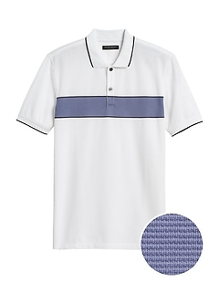 Slim Luxury-Touch Polo