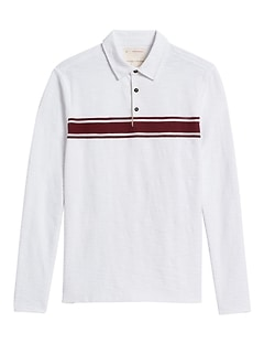 Heritage Long-Sleeve Polo