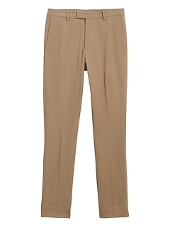 Slim Tapered Italian Cotton Dress Pant