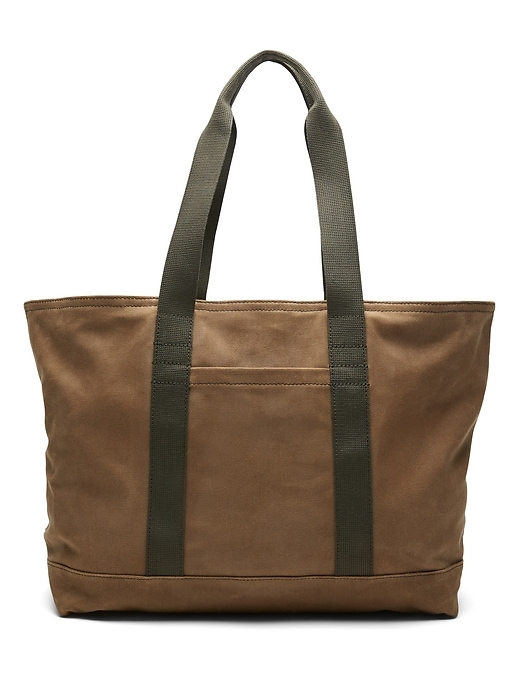 Waxed Canvas Large Tote