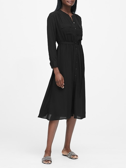 JAPAN EXCLUSIVE Midi Shirt Dress