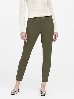 Petite Modern Sloan Skinny-Fit Brushed Washable Pant