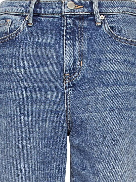 Brand New Ladies Next Cropped Wide Leg Jeans Size 8 Dark Blue Denim £26