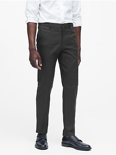 Slim Solid Non-Iron Stretch Pant