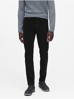 Athletic Tapered Brushed Traveler Pant