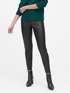 Devon Legging-Fit Vegan Leather Pant