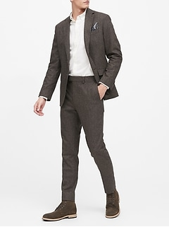 Slim Donegal Suit Jacket