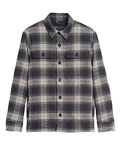 Heritage Plaid Shirt Jacket