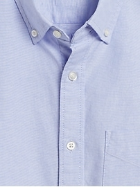 Untucked Standard-Fit Cotton Oxford Shirt