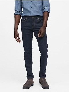 Skinny Rapid Movement Denim Stay Blue Jean