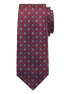 Alternating Foulard Nanotex® Tie