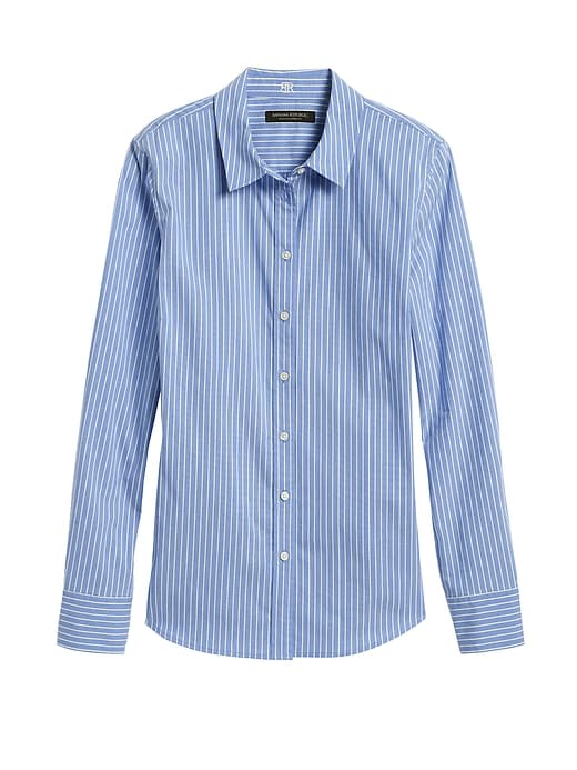 Riley Tailored-Fit Stripe Shirt