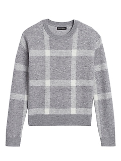 Aire Plaid Sweater