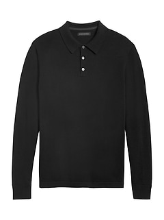 Italian Merino Sweater Polo