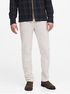 Slim Brushed Traveler Pant