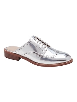 Brogue Oxford Mule