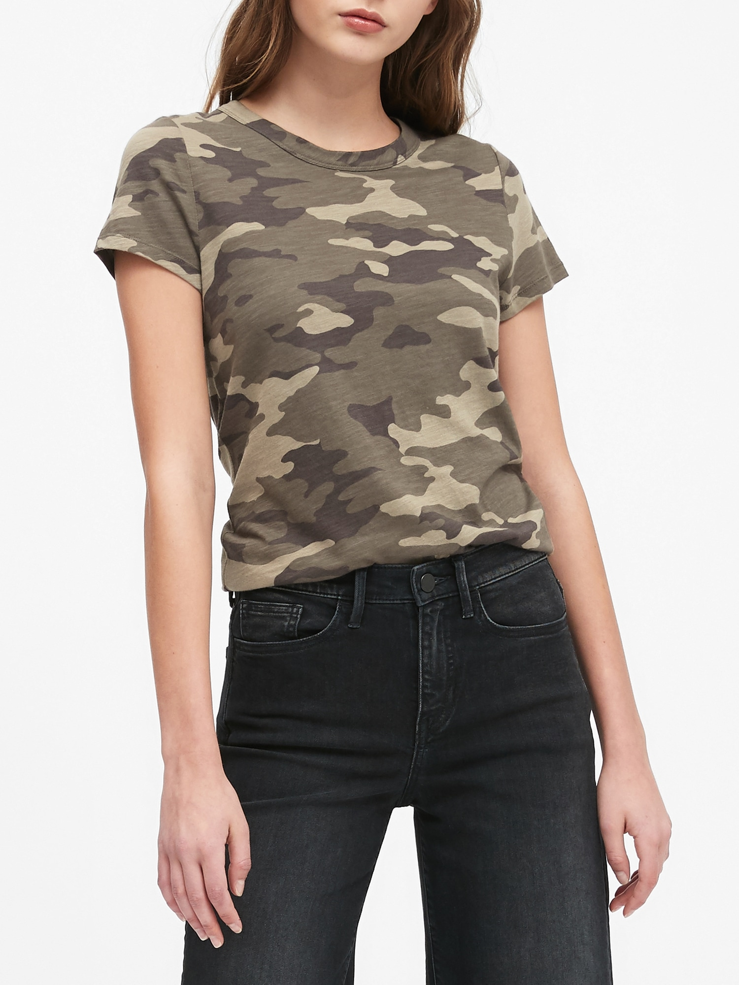 Camo T-Shirt | Banana Republic