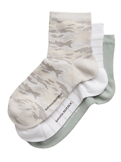 Ankle Sock 3-Pack