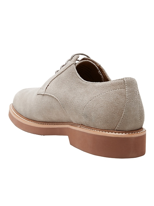 Nyle Suede Lace-Up Oxford