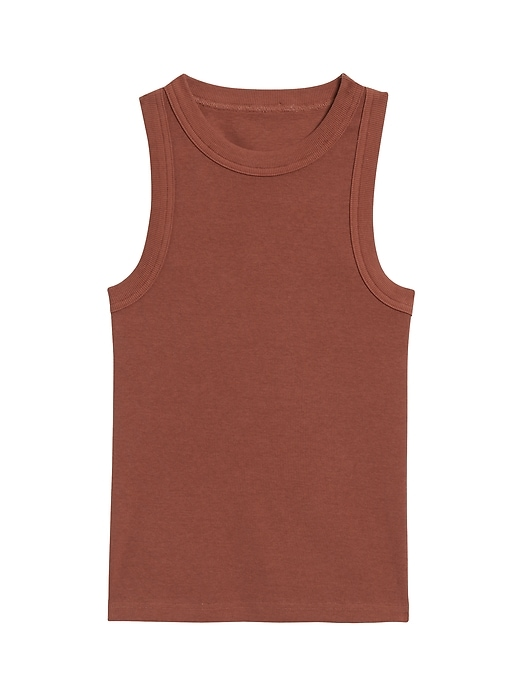 Petite Fitted Ribbed Tank