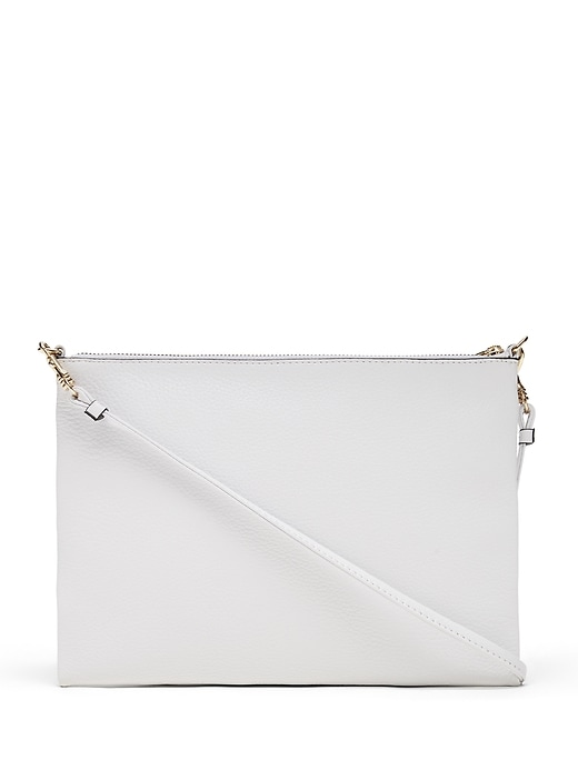 Banana Republic Leather Effortless Crossbody