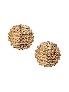Textured Small Stud Earrings
