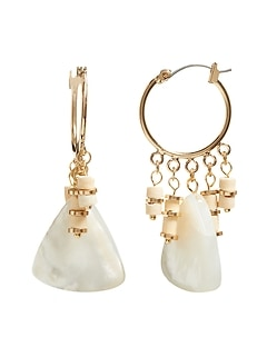 Woo & Pearl Drop Earrings