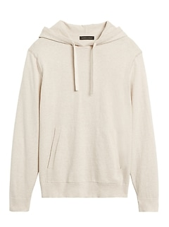 Organic Cotton Sweater Hoodie