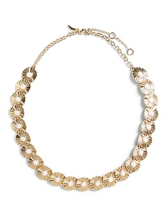 Mother of Pearl Ripple Necklace
