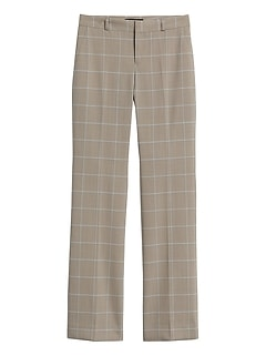 Logan Trouser-Fit Washable Wool-Blend Pant