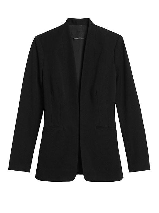 Banana Republic Long Bi-Stretch Women Blazer