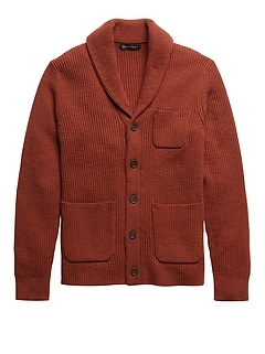 SUPIMA® Cotton Cardigan Sweater