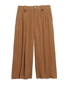 High-Rise TENCEL™ Culottes
