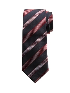 Five Stripes Silk Tie